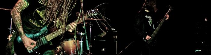 Dopethrone + Downthrodden 26/02/11 live @ Café Chaos, Montréal