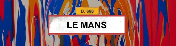 Tour de France 2015 - Le Mans - Quadrupède