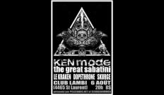 Ken Mode + The Great Sabatini + Dopethrone + Le Kraken + Skurge 6 août 2011 @ Club Lambi, Montréal