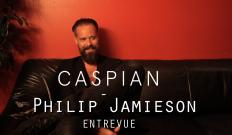 Caspian : entrevue Philip Jamieson 22/09/15 @ Petit Campus, Montréal