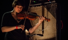 Thee Silver Mount Zion Memorial Orchestra + Eric Chenaux 18/02/2014 @ L'Epicerie Moderne, Feyzin