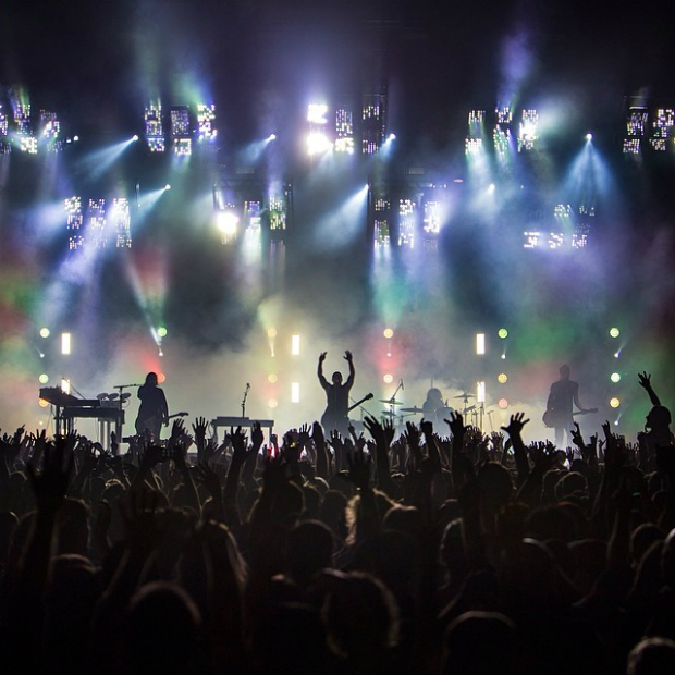 Nine Inch Nails 29/05/2014 @ Zenith, Paris 2/2