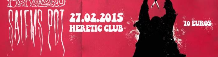 [Concours] Monolord + Salem's Pot + Greyfell 2 places à gagner pour le concert à Bordeaux le 27 février 2015