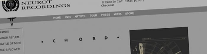 CHORD : collectif drone et side project de Trevor de Brauw