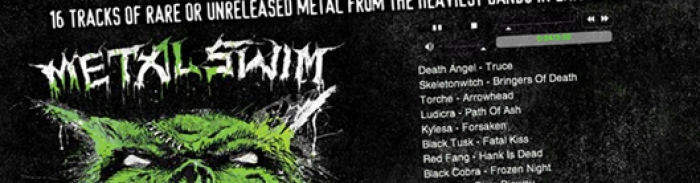 Metal Swim : compilation gratuite par Adult Swim et Scion A/V de 16 morceaux
