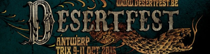 [Playlist] Sélection Desertfest Belgium 2015