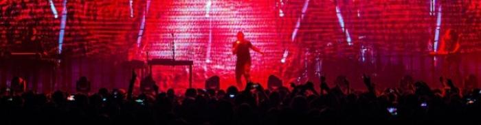 Nine Inch Nails 16/04/2014 @ Rockhal, Esch-sur-Alzette (Luxembourg) 1/2