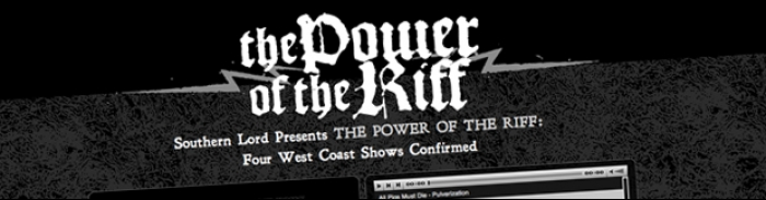 Southern Lord Records : The Power of the Riff mixtape