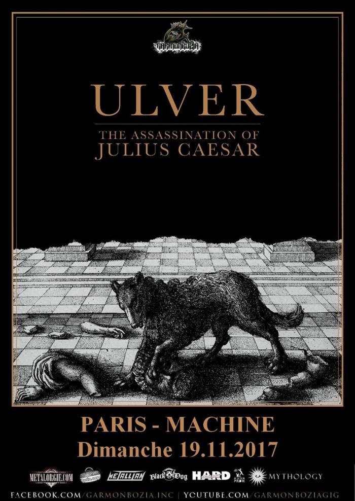 Ulver + invités, La Machine du Moulin Rouge, Paris