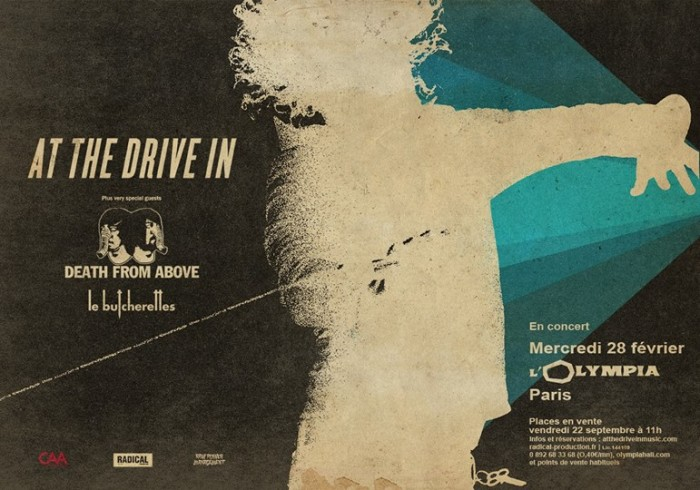 At The Drive In + Death From Above + Le Butcherettes, L'Olympia, Paris