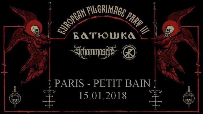 Batushka + Schammasch + Trepaneringsritualen, Le Petit Bain, Paris
