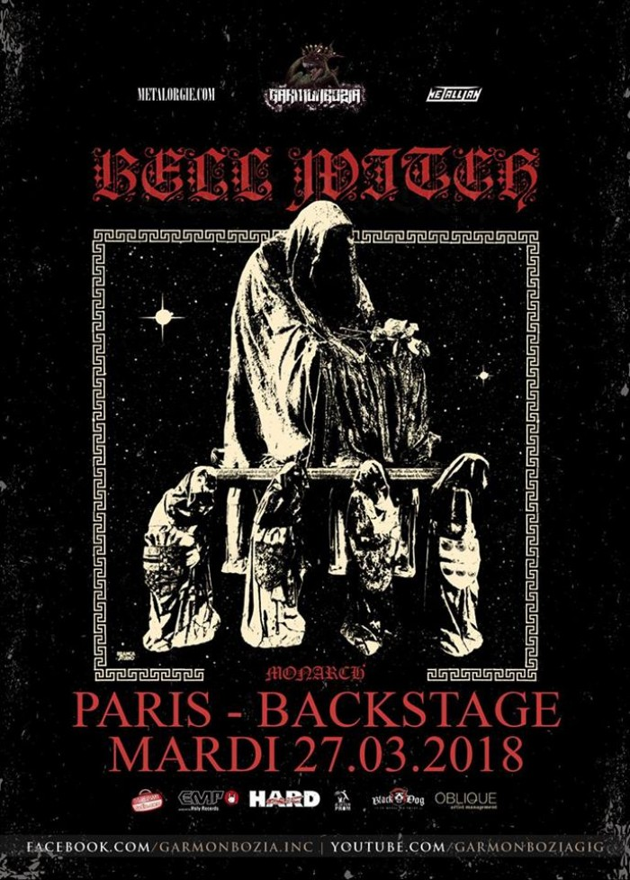 Bell Witch + Monarch!, O'Sullivans Backstage by the mill, Paris