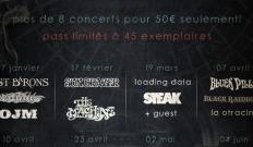 Stoned Gatherings : la programmation du début 2013 dévoilée...