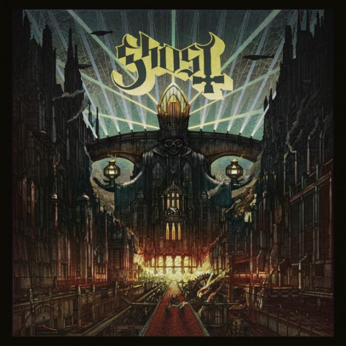 """Ghost : nouveau Papa et """"Meliora"""" programmé pour le 26 août"""