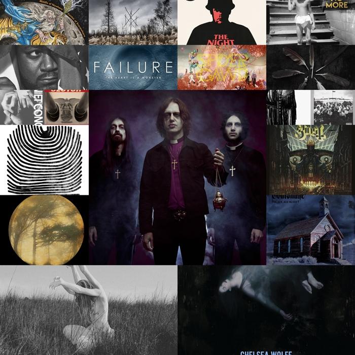 Les TOPS albums 2015 de la rédaction